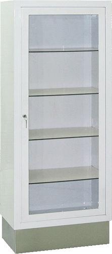 armario de hospital / con estantes / con 1 puerta