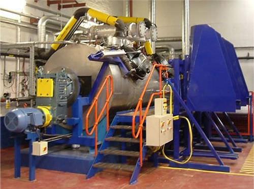 sistema de tratamiento de desechos autoclave