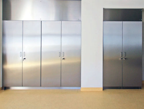 armario de laboratorio