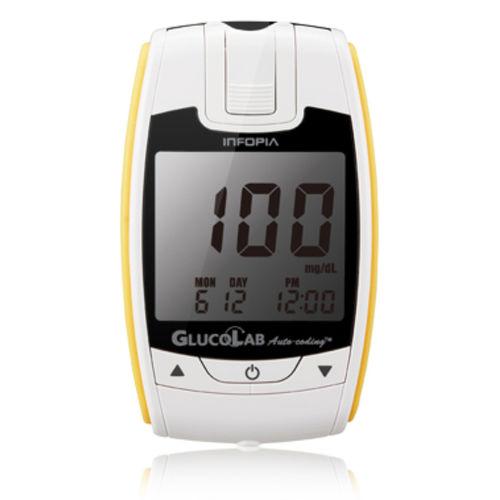 glucómetro con autocodificación