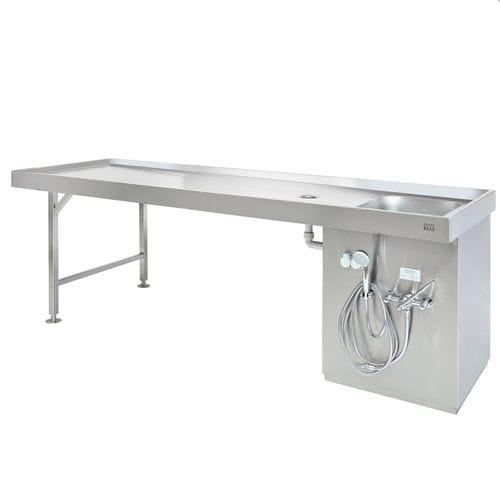 mesa de autopsia - KUGEL medical GmbH & Co. KG