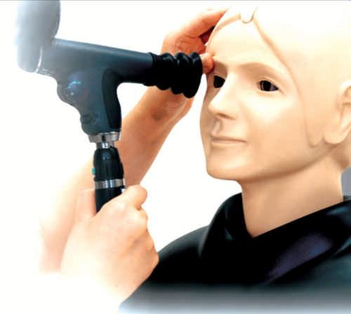 maniquí de prácticas para oftalmología / cabeza