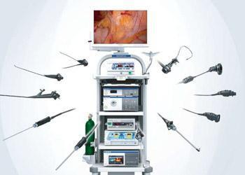 columna para cirugía ORL endoscópica