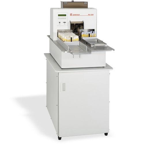 sistema de encapsulación de tubos de ensayo / de laboratorio / automático / de pie