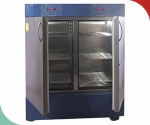refrigerador de laboratorio / de tipo armario / con 2 puertas