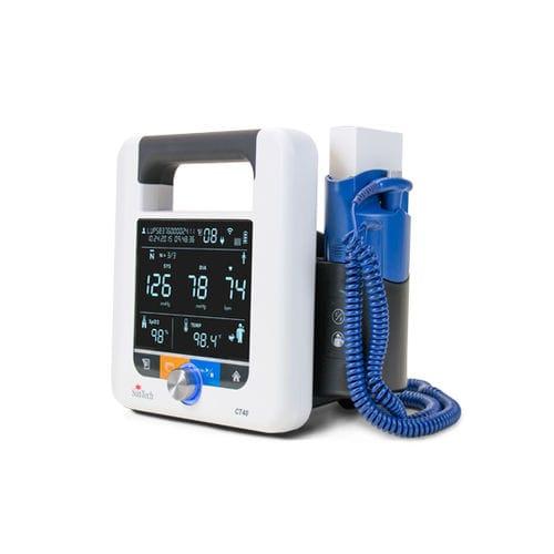 monitor de constantes vitales para la presión arterial / de temperatura / SpO2 / ambulatorio