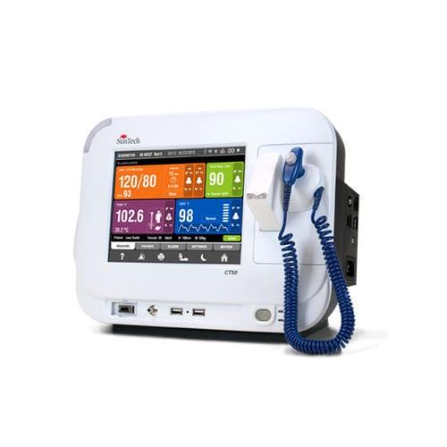 monitor de constantes vitales para la presión arterial / de temperatura / SpO2 / clínico