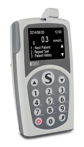 analizador POC de diabetes