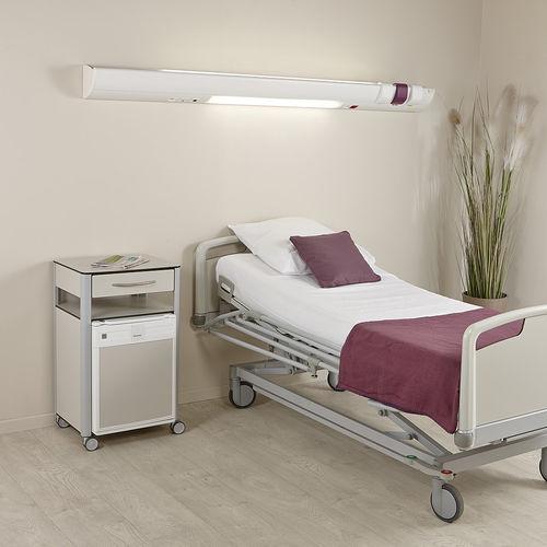 unidad médica de cabecera horizontal