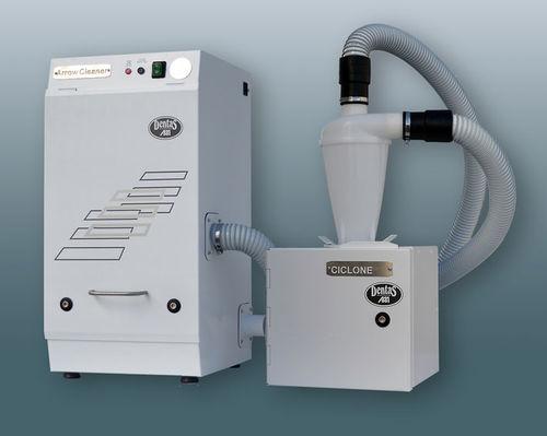 aspirador de polvo para fresadora / de mesa / con por con sistema de filtración