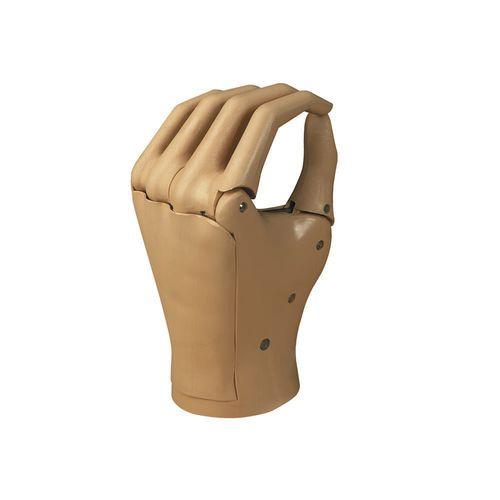 prótesis de mano con control motor