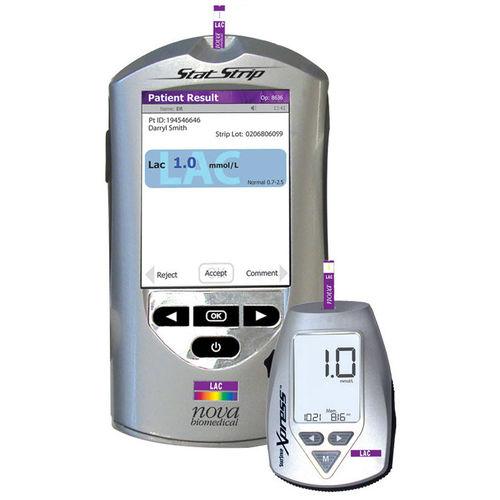 lactatómetro portátil