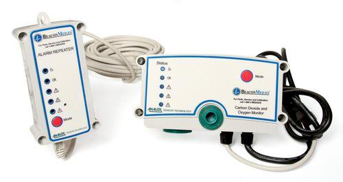 sistema de monitorización de oxígeno