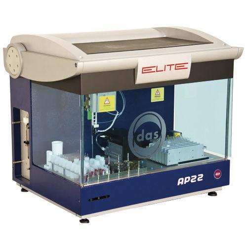 sistema de preparación de muestras para prueba ELISA