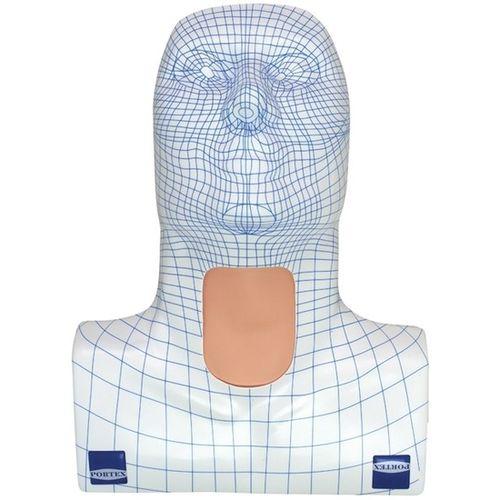 maniquí de prácticas para cuidados médicos / para traqueotomía / cabeza