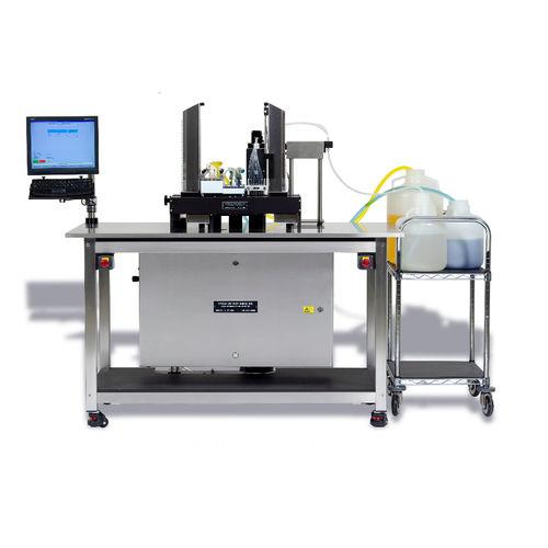 sistema de preparación de muestras automatizado / de lavado / de llenado / con ruedas
