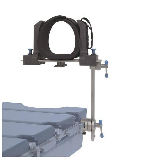 soporte para rodillas / para mesa de operaciones / para artroscopia / de altura regulable
