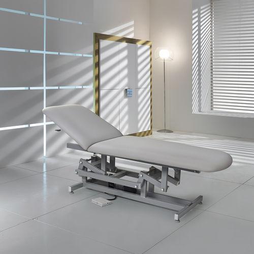 mesa de exploración para ecocardiografía / de fisioterapia / para cirugía menor / cuidados de estética