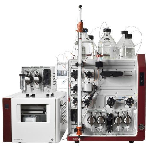 sistema de cromatografía de líquida / de purificación de proteínas / UV / modular