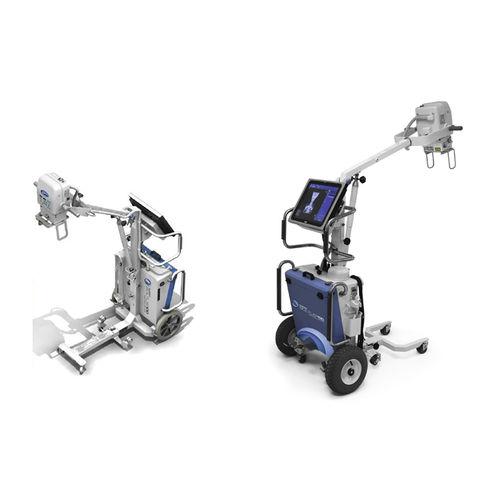 unidad móvil de radiografía digital