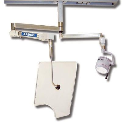 pantalla de radioprotección rayos X / de techo / con lámpara cialítica