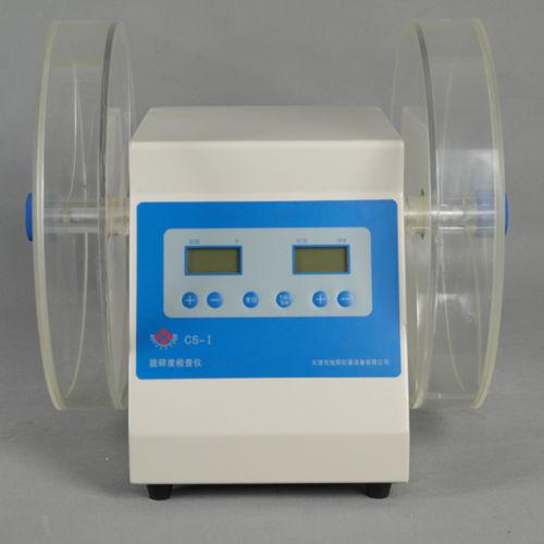 tester para friabilidad / para comprimidos / de mesa / tambor doble