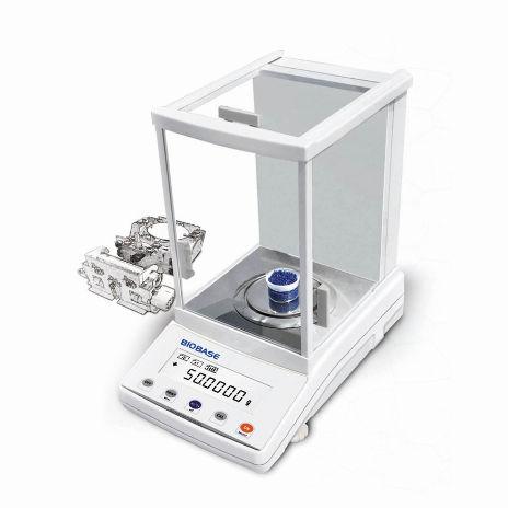 balanza de laboratorio electrónica / analítica / de investigación científica / de mesa