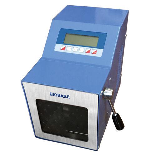 homogeneizador para preparación de pruebas
