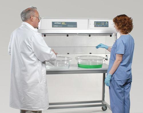 estación de trabajo para la desinfección de endoscopios