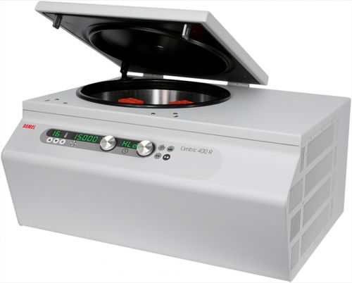 Centrífuga de laboratorio - CENTRIC 400 R - Domel d.o.o. Business Unit Laboratory Systems - médica / universal / multifunción
