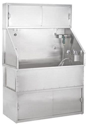 bañera veterinaria para suelo