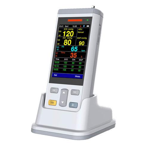 monitor de constantes vitales TEMP / PNI / para oximetría de pulso / para cuidados intensivos