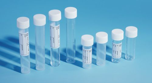 tubo de ensayo para almacenamiento de muestras