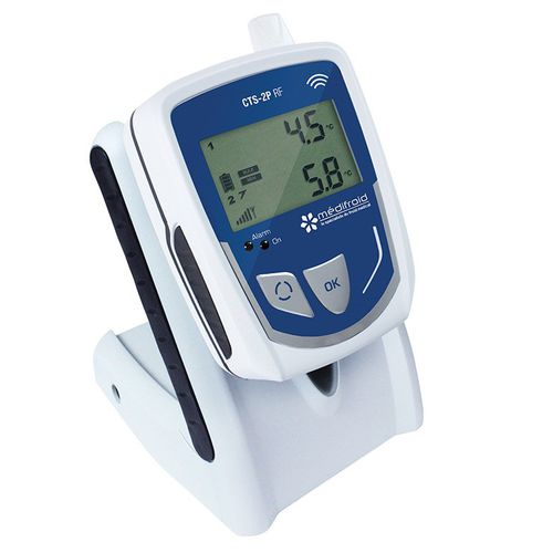 registrador de datos de temperatura / para trazabilidad de temperatura / de gestión de alarmas