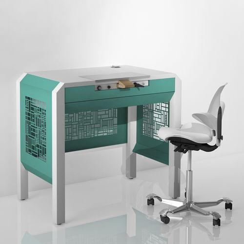 puesto de trabajo para laboratorio dental