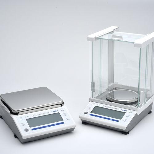balanza de laboratorio electrónica