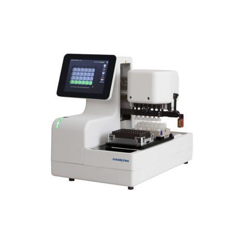 sistema de automatización de laboratorio de desencapsulado de tubos