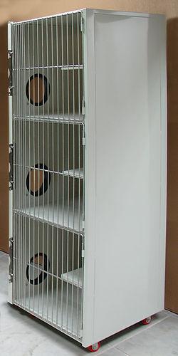 jaula veterinaria para gatos