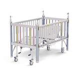 cama médica / manual / de altura fija / con ruedas