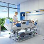 cama para cuidados intensivos / eléctrica / ajustable en altura / de inclinación lateral