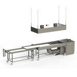 mesa de autopsia / de disección / rectangular / móvil