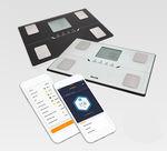 analizador de la composición corporal para la medición de la masa adiposa / con pantalla LCD / con cálculo del IMC / Bluetooth
