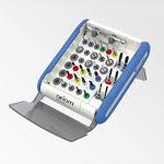 kit de instrumentos para implantología dental