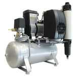 compresor de aire para odontología / para fresadora / sin aceite / de membrana