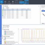 software de análisis / para informes / de control / de interpretación