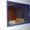 ventana de observación / de laboratorio / de hospital / de protección radiológica