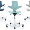 taburete de laboratorio dental / de altura variable / ergonómico / con respaldo