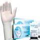 guantes médico / de látex / empolvado / esterilizado