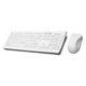 teclado USB / inalámbrico / de silicona / de higiene