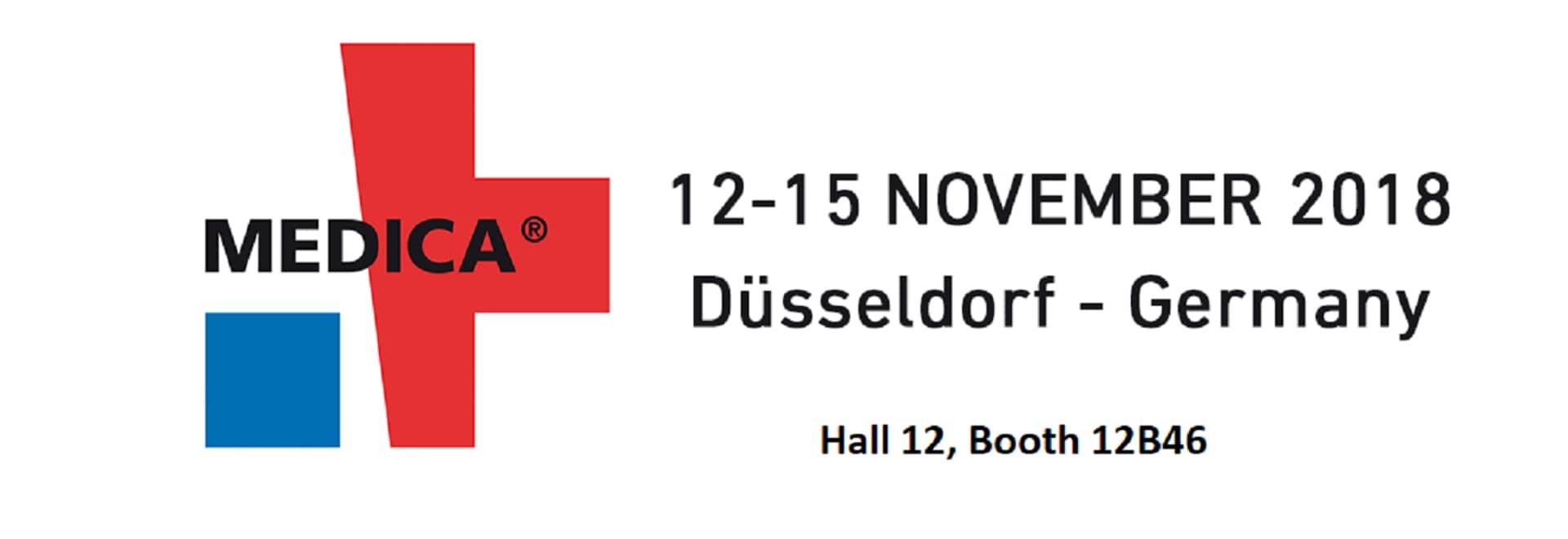 12-15 de noviembre – MEDICA 2018 DÜSSELDORF